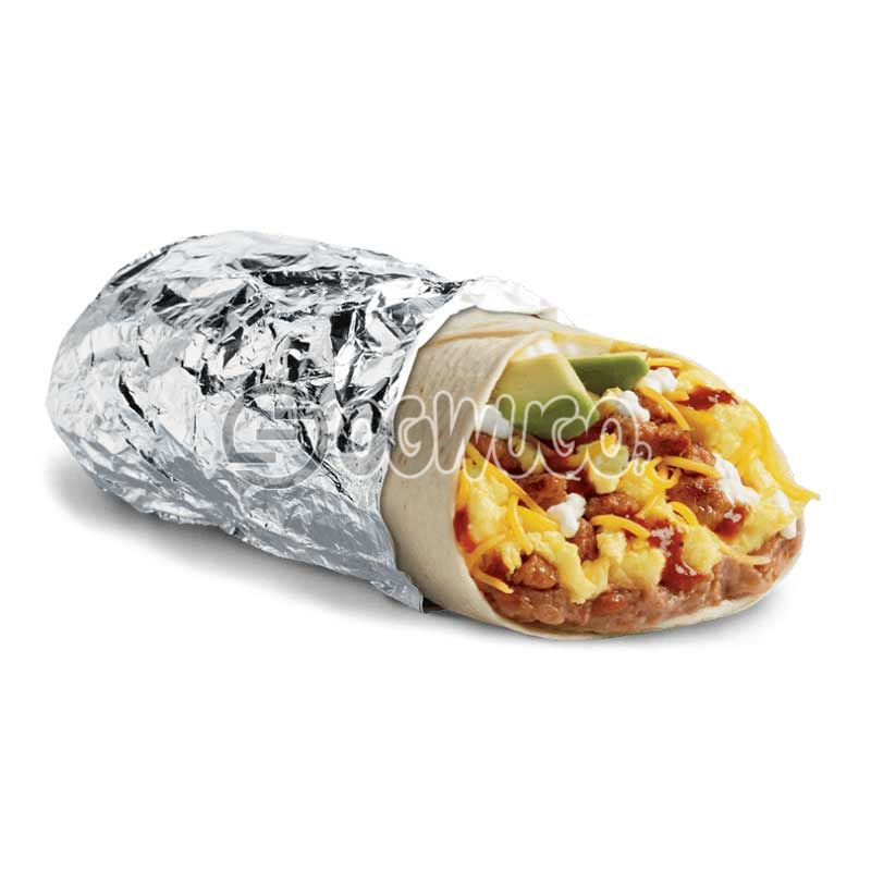 Tasty and delicious special Buritto: unable to load image