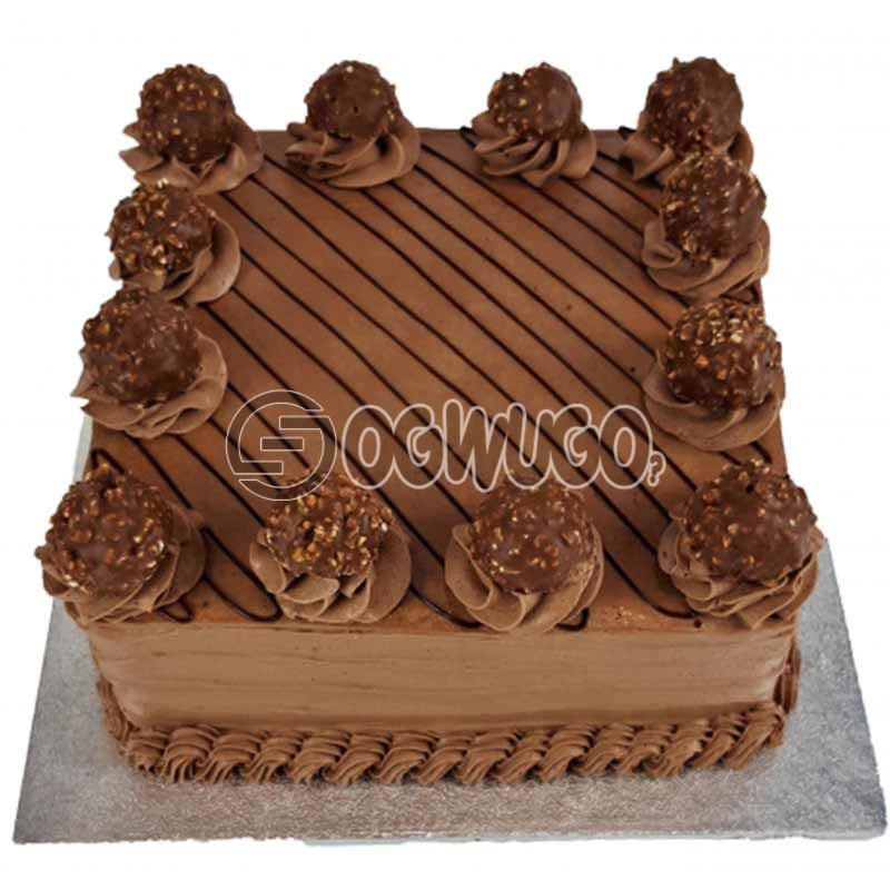 CELEBRATION CAKE - Square shaped (big size).: unable to load image