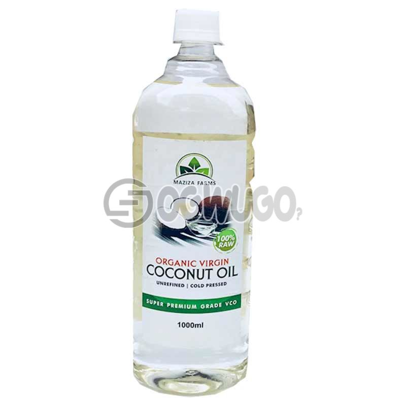 MAZIZA FARMS ORGANIC VIRGIN COCONUT OIL 1LITRE