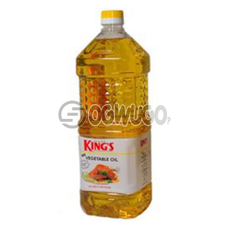Two Litres (2L) Devon Kings Cooking Oil.: unable to load image