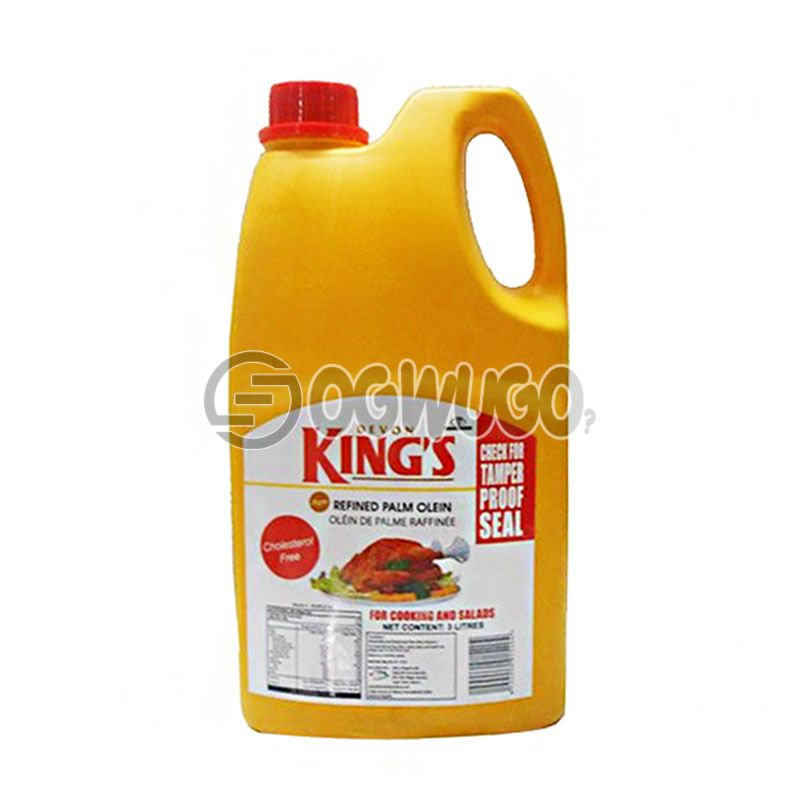 Five Litres (5L) Devon Kings Cooking Oil: unable to load image