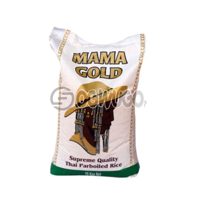 25KG of Mama Gold bag of Rice: unable to load image