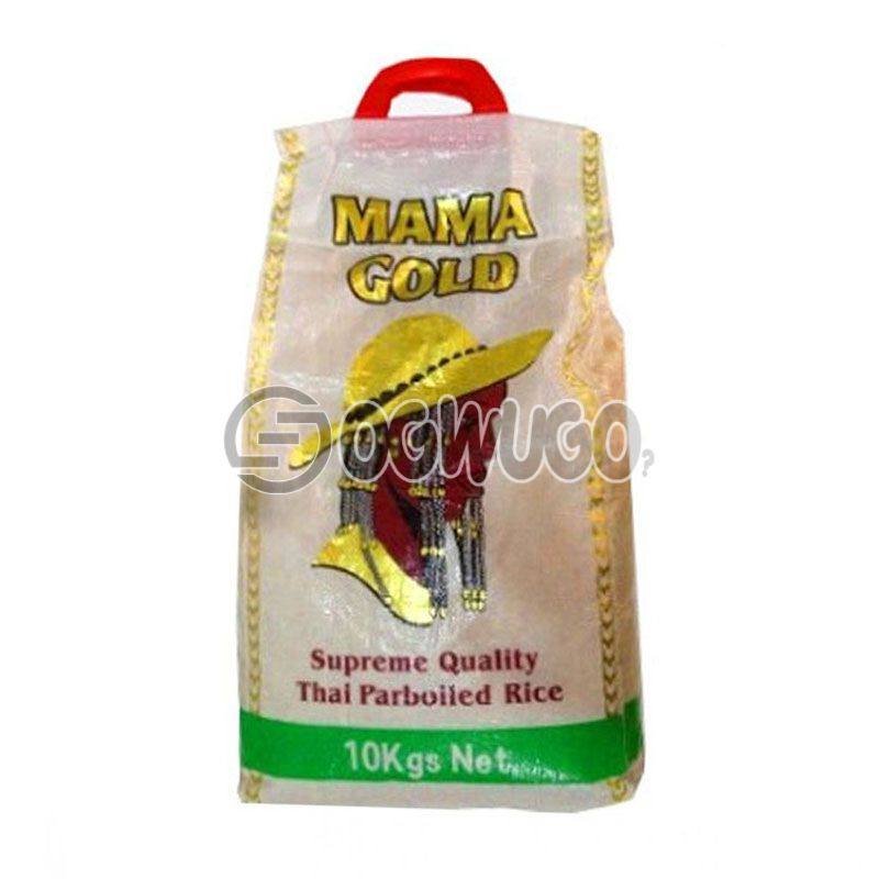 10KG of Mama Gold bag of Rice: unable to load image