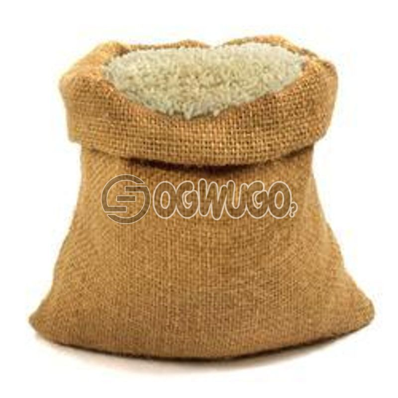 A Bag of 25KG Rice: Abakiliki Special Rems Gold Rice, Parboiled / Destoned Rice: unable to load image