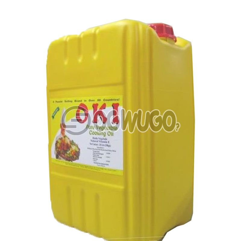 Twenty Litres (20L) of Palm (Red) Oil: unable to load image