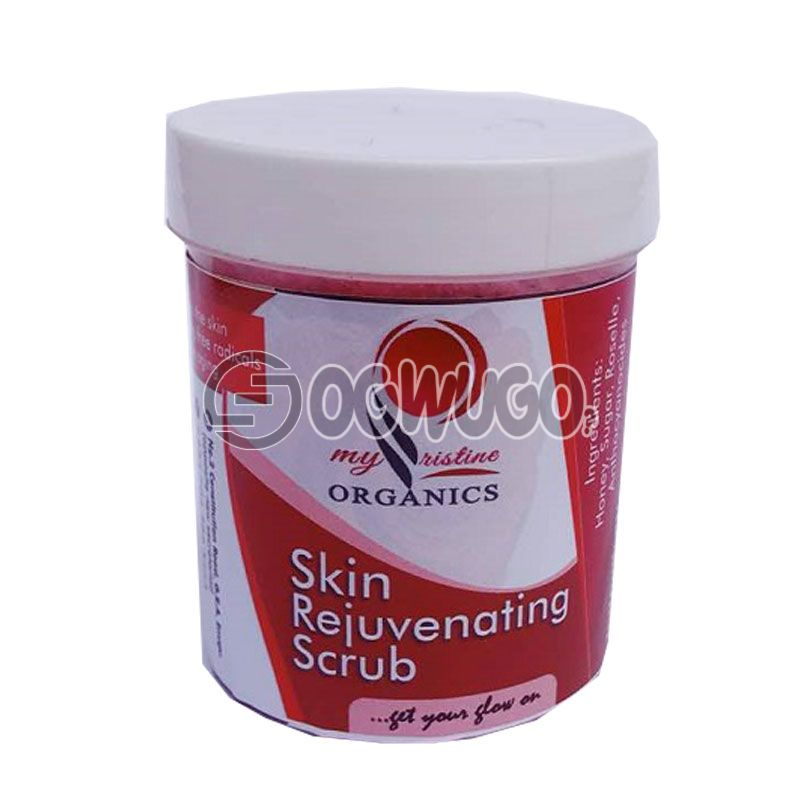Skin rejevenating scrub