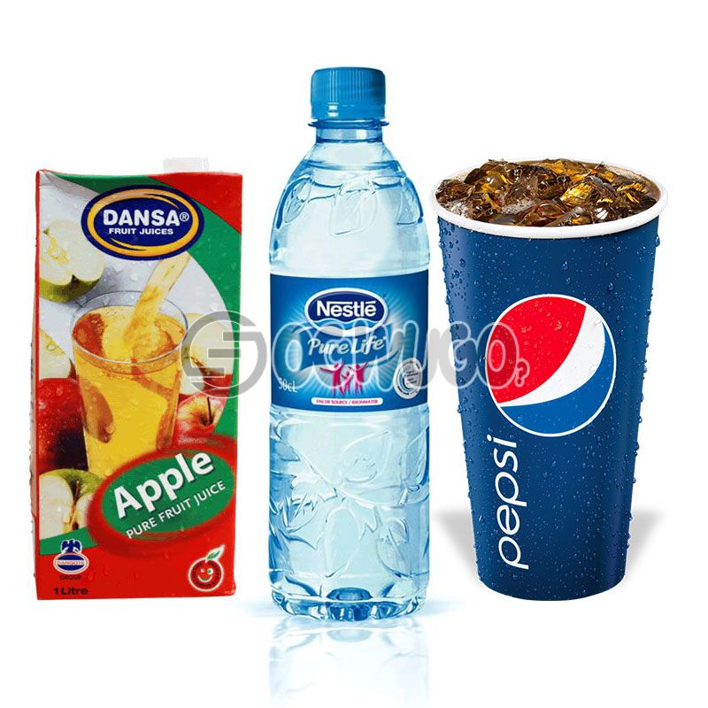 50cl Large Pepsi Cup or 50cl Water or 25cl Juice: unable to load image