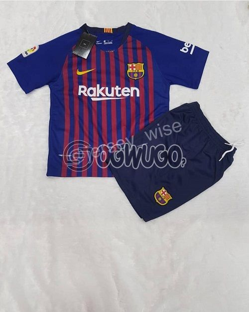Barcelona Original Jersey for Kids, Order now and make your loved ones happy.: unable to load image