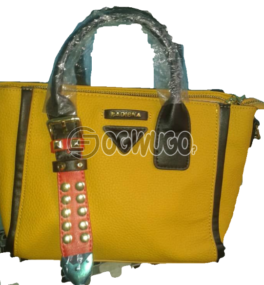 Quality leather women hand bag, order now and it will be delivered to your doorstep in two dsys: unable to load image