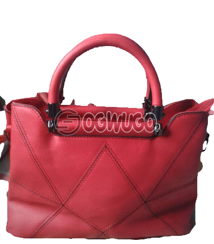 Pink Women Leather Handbag, Order now and have it delivered to your doorstep in two days: unable to load image