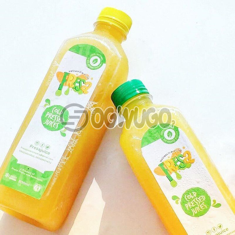 Cold pressed Pineapple Juice (Plain or with Ginger)