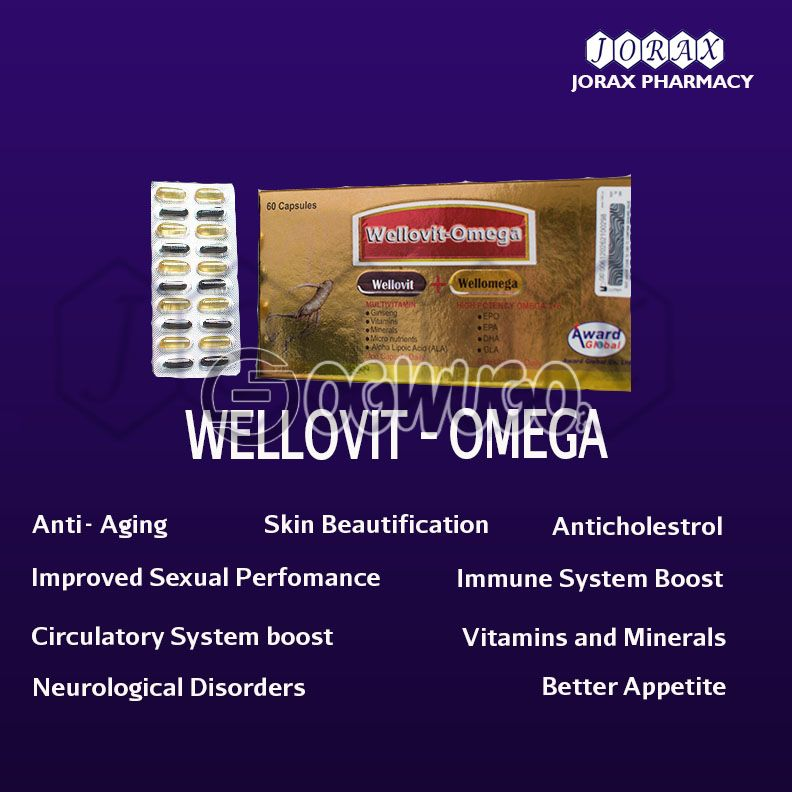 WELLOVIT-OMEGA softgel Capsules: unable to load image