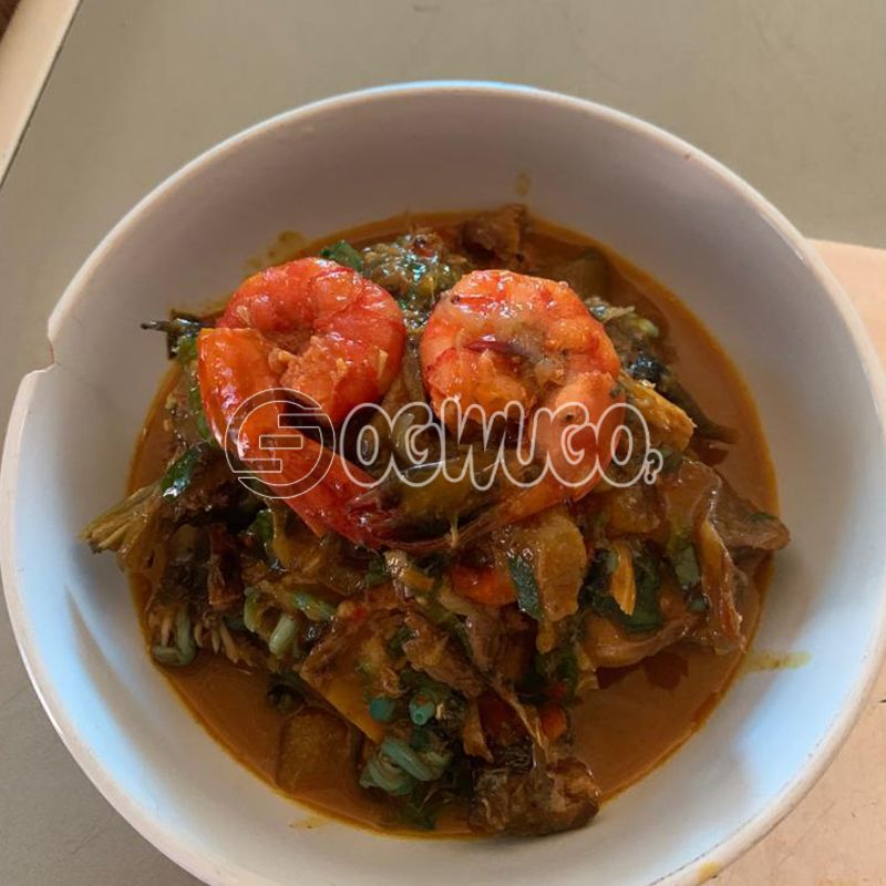 Fisherman Soup... Made with goat meat, beef, cowleg or assorted.