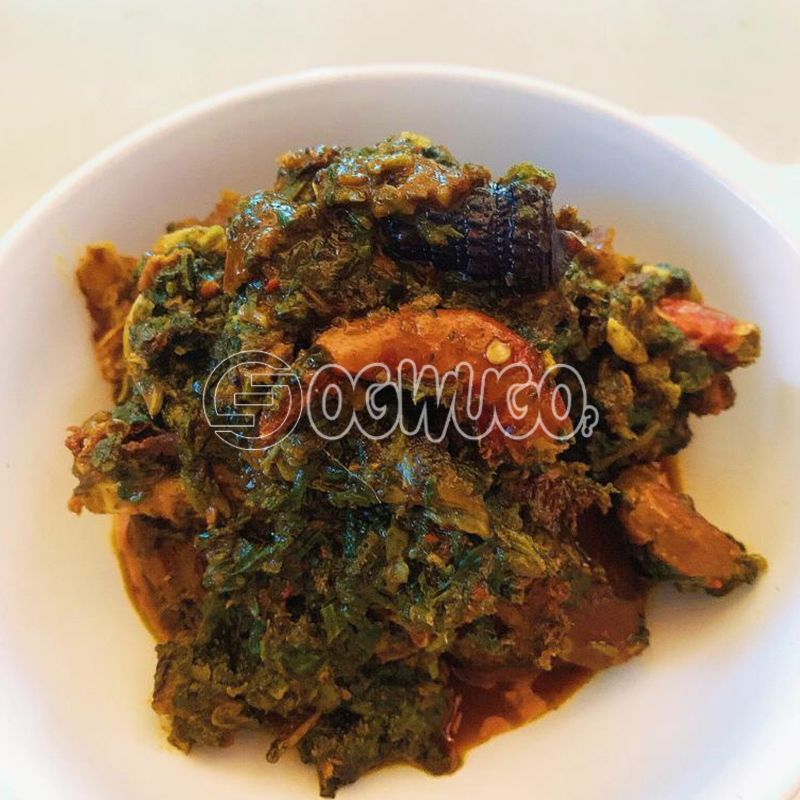 Vegetable Soup... Made with goat meat, beef, cowleg or assorted.: unable to load image