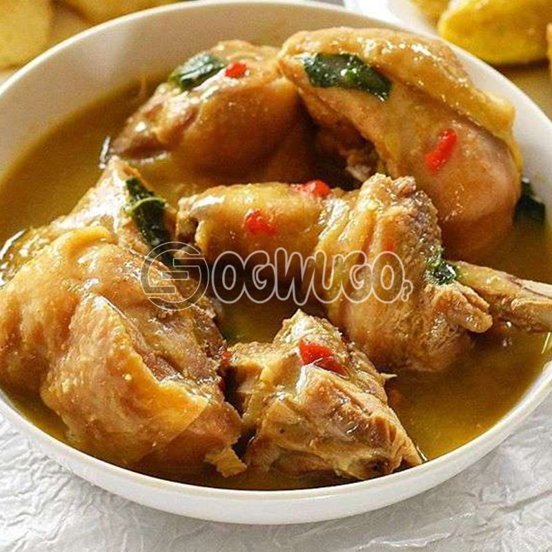 Peppersoup (Goat Meat, Chicken or Cowleg)