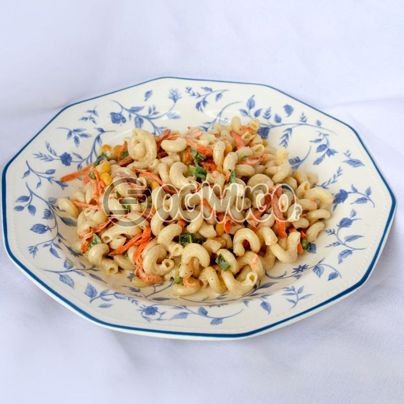 Chitis Healthy Macaroni Salad: unable to load image
