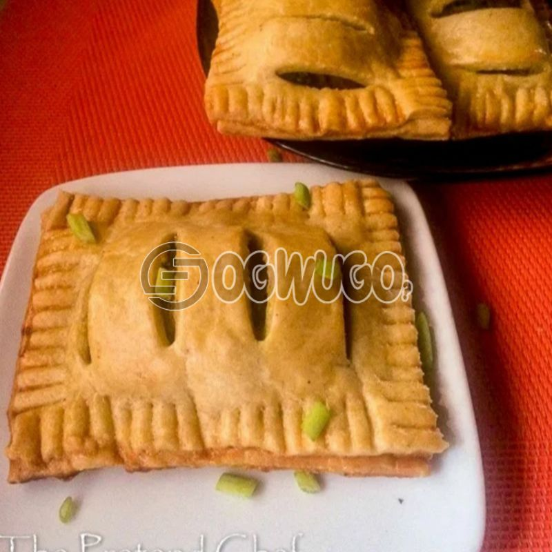 6 Vegetable Pie (Vegetarian Special): unable to load image