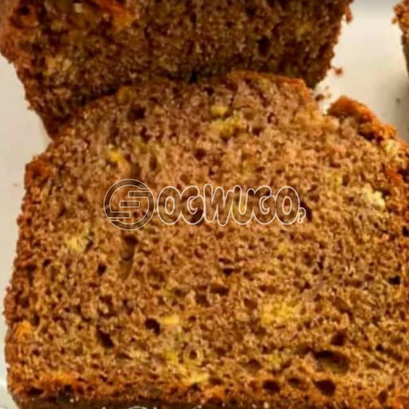 Fruity and tender Plantain Bread: unable to load image