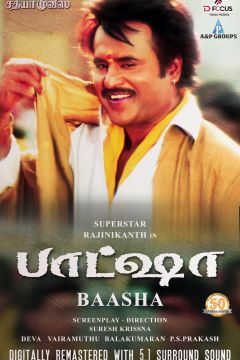 Baasha Movie Poster