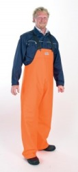 Handi PVC Regnbukse oransje