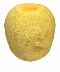 Miljøkork gul 22 x 17 cm.
