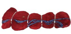 Garnstreng 1,5 x 4 - 63 mm 40MD 2000 kn. Rød