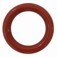Ring 80mm nylonbelagt/syrefast, Rød