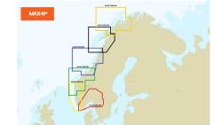 C-MAP lokal kart Farsund / Måløy