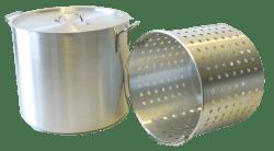 Krabbegryte 40 Ltr Aluminium m/innerrist