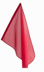 Flagg rødt/orange 35x50cm