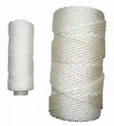 Kryssflettet polyester 3,0mm hvit