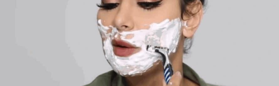 Facial Hair Growth Inhibitor Creams (Vaniqa generics)
