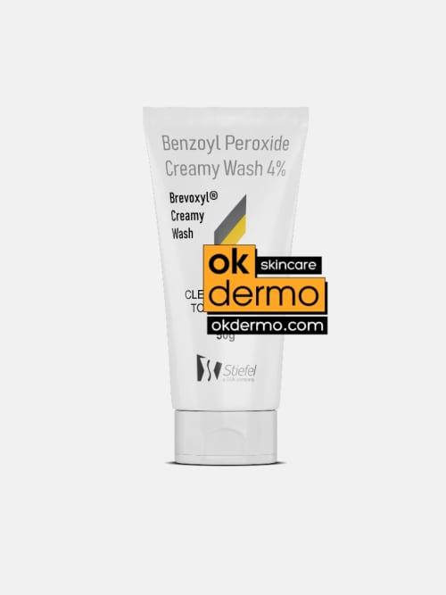 Brevoxyl Benzoyl Peroxide 4% Creamy Wash