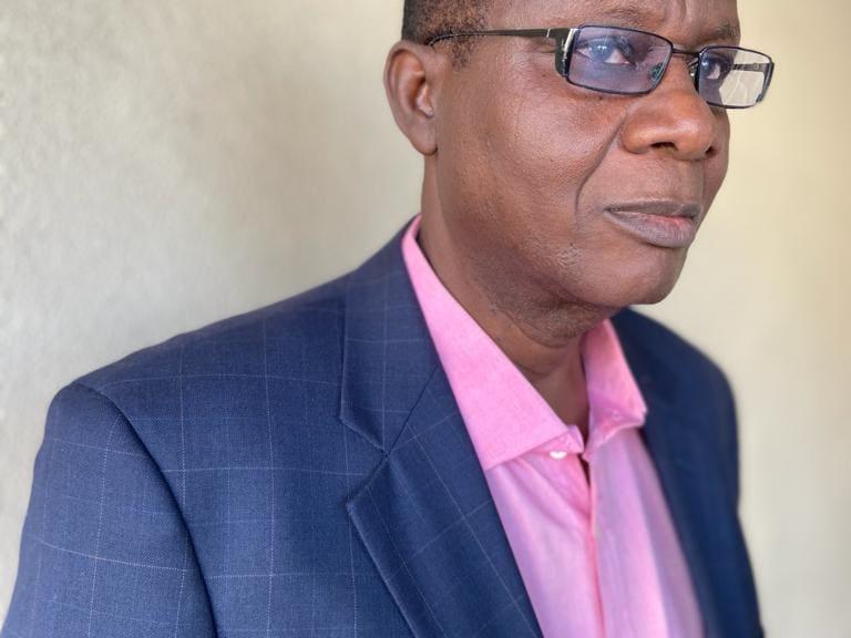 A portrait of John A.B. Oyedeji.
