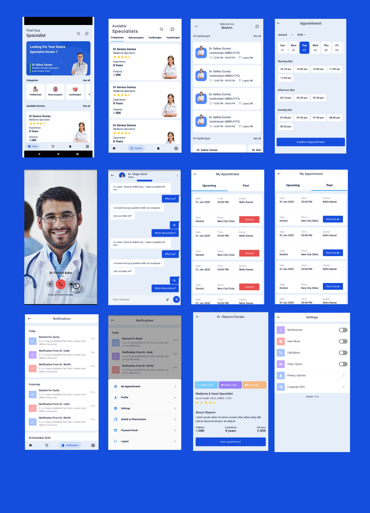 Doctor Finder - Medical Appointment Booking & Online Pharmacy Store - 4
