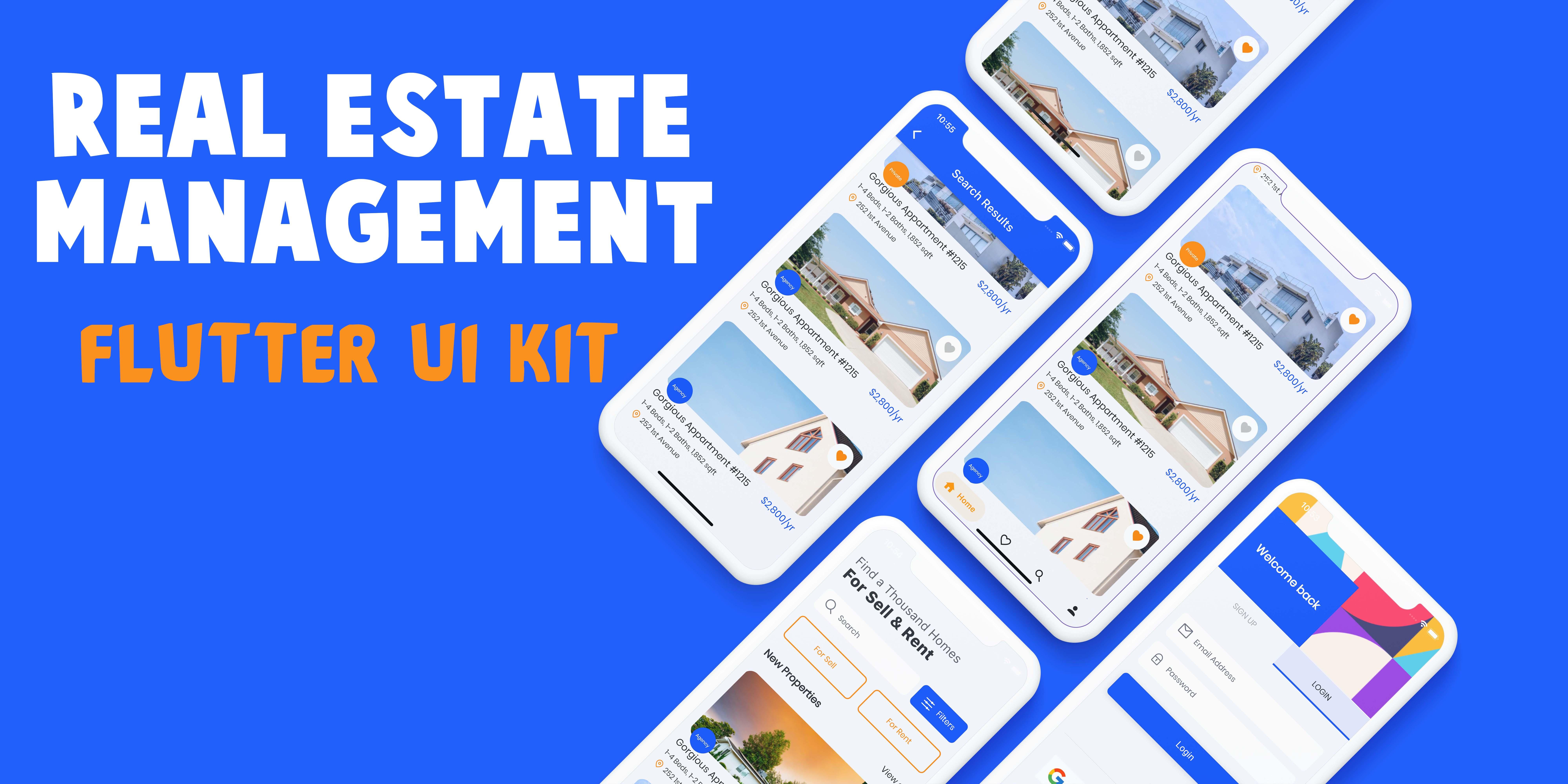 Real Estate Flutter UI Kit