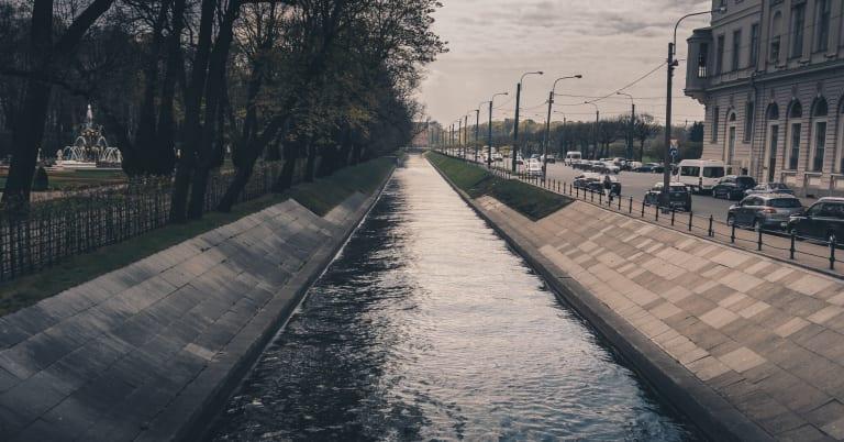 """Канал """"Лебяжья Канавка"""" в сторону Михайловского замка"""