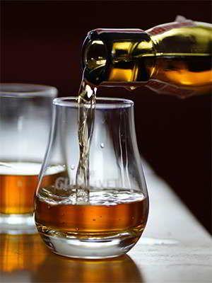 Scottish single-malt whisky