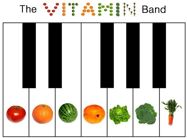 The Vitamin Band logo picture