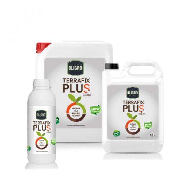 Terrafix Plus Likit Organik Sıvı Solucan Gübresi
