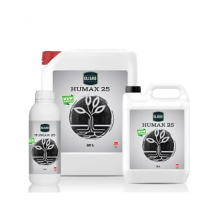 Humax 25 Humic-Fulvic Acid Fertilizer Produced with Vegetable Origin Raw Materials