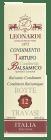 # Leonardi balsamico m/trøffel 12 år 40 ml