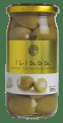 Iliada oliven grønn m/hvitløk 215 g