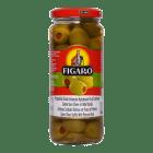 # Figaro oliven grønn m/paprika store 340 g