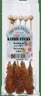 Sukkerpinner brune 6 stk