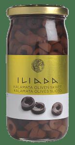 Iliada Kalamata oliven skivet 370 g