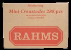 Rahms mini krustader 288 stk 605 g