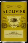A L'Olivier olivenolje m/basilikum 250 ml
