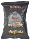 Chili Klaus chips m/chili vindstyrke 8 150 g