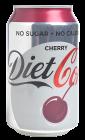 Coca-Cola Diet cherry 330 ml